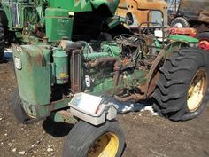 John Deere 2030 tractor salvaged for used parts. This unit is available at All States Ag Parts in Ft. Atkinson, IA. Call 877-530-3010 parts. Unit ID#: EQ-23957. The photo depicts the equipment in the condition it arrived at our salvage yard. Parts shown may or may not still be available. http://www.TractorPartsASAP.com