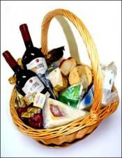 Cheese and Wine basket