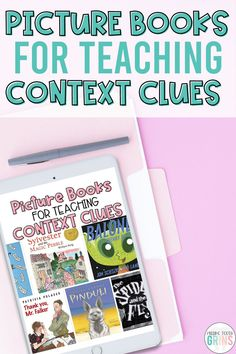 Teaching reading comprehension skills with mentor texts is so important. Check out this blog post for a list of picture books to help you teach context clues. These 7 texts will be sure to engage your first and second grade students during reader's workshop.
