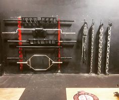 Do you even Powerlift? Specialty bars and chainz in our Powerlifting area with more of everything coming over the next week or so. #powerlifting #gym #bray #wicklow #ireland #strength #footballbar #swissbar #trapbar #safetybar #chainzfordayz #westsidebarbell #conjugatestrong #moreequipment #youwontaccommodateme