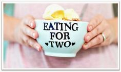 "VebieAB: Eating the Right Portion During Pregnancy  ""Eat mo..."