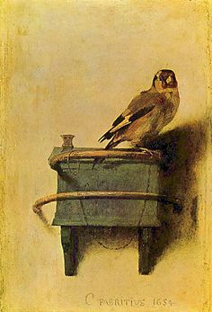 The Goldfinch Painting FABRITIUS | ... NYC: Vermeer, Rembrandt, and Hals: Masterpieces of Dutch Painting