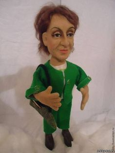 Портретная кукла - Финансовый Директор