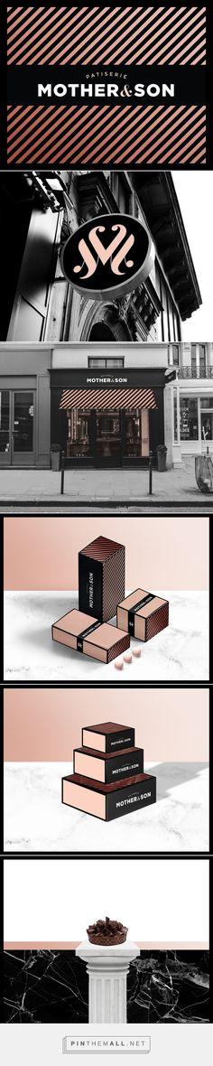 Mother & Son Patiserie Branding and Packaging by Omen Studio   Fivestar Branding Agency – Design and Branding Agency & Inspiration Gallery