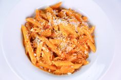 Penne alla Vodka by Mario Batali - Recreate this Italian classic at home with this quick and easy recipe.