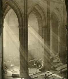 by Josef Sudek, St. Vitus Cathedral Prague, 1924-28