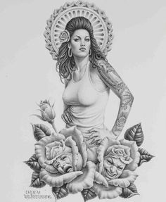 Chicano art, tattoo ideas, tattoo, tattoos, lowrider, low rider art, lowrider…