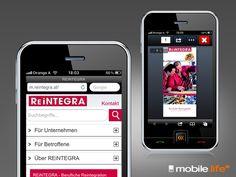 Passend zum neuen Webauftritt von REiNTEGRA hat echonet auch die mobile Version des Webauftrittes im Netz zur Verfügung gestellt. Mit dabei ist auch die E-Paper-Version der Prospekte.