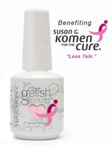 Harmony Gelish Breast Cancer Awareness - Less Talk -525