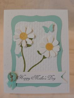 Stampin Up Mothers Day Card by OhSoLovey on Etsy