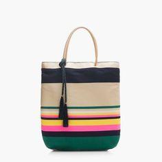Shop Now - >  https://api.shopstyle.com/action/apiVisitRetailer?id=627064343&pid=uid6996-25233114-59 Pop-stripe tote  ...
