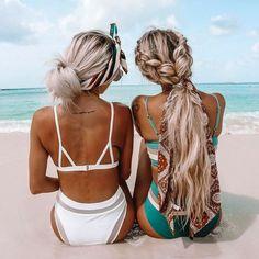 50 Cute And Easy Summer Hairstyles That'll Prevent Neck Sweat 50 süße und einfache Sommerfrisuren, d Box Braids Hairstyles, Pretty Hairstyles, Curly Hair Styles, Natural Hair Styles, Easy Summer Hairstyles, Hairstyles For Beach, Hairstyles Pictures, Trending Hairstyles, Braid Styles