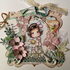 Cards and Quilts: Loves me loves me not Tilda