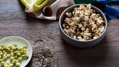 Wasabi popcorn with nori recipe : SBS Food