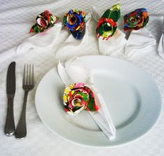 Invista em uma das ideias muito criativas de artesanato com chita (Foto: toquedebomgostoartes.blogspot.com.br)