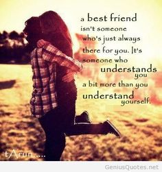 A best friend isn t someone who...