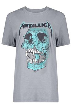 Isobel Metallica Licence Print Band T-Shirt