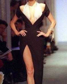 "bezh on Twitter: ""jean paul gaultier thierry mugler… "" Look Fashion, 90s Fashion, Runway Fashion, High Fashion, Fashion Beauty, Vintage Fashion, Fashion Outfits, Fashion Design, Glam Dresses"