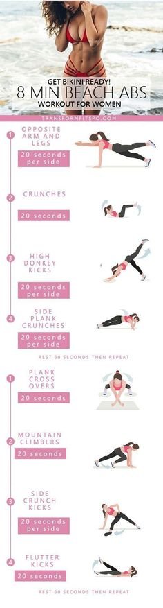 Repin and share if this workout gave you sexy abs in time for summer! Read the post for all the info!
