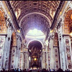 Italian Adventure Day 15: Touring Vatican City & Saint Peter's Basilica