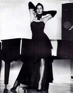 Karl Lagerfeld, Domino magazine, 1987.