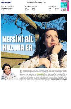 Müşterilerimizden Spiritüel Yaşam Uzmanı Gülden Üner'in maneviyat psikolojisiyle ilgili röportajı Zaman Gazetesi'nde yer aldı.