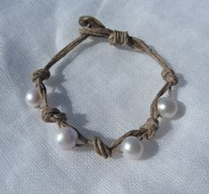 linen pearl bracelet  http://www.etsy.com/shop/beachcomberhome?ref=pr_shop_more
