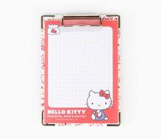 Hello Kitty Mini Memo Clipboard: Tulip