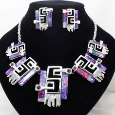 newest arrival brand fancy bridal jewelry sets wedding party unique necklace and earring sets for women free shipping US $12.80