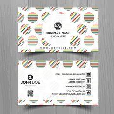 En güzel dekorasyon paylaşımları için Kadinika.com #kadinika #dekorasyon #decoration #woman #women free vector business cards Company name & John Doe