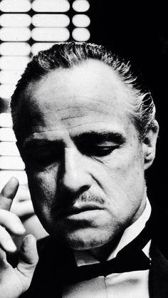 Il Padrino. The Godfather, Brando Godfather, Marlon Brando, Don Corleone, Cool Tats, Movies Showing, Good Movies, Che Guevara, Cool Photos