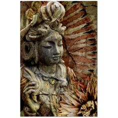 Kwan Yin Goddess Art Canvas - Art of Memory - Premium Canvas Gallery Wrap - Fusion Idol Arts - New Mexico Artist Christopher Beikmann