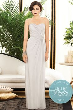 One of the most popular styles by Dessy 2882 Bridesmaids Style | Best price @ Chichi