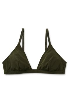 Weekday image 1 of Susy Soft Bra in Khaki Green