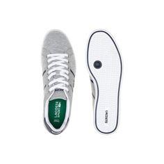 Sneakers Graduate Evo en toile chinée - Grey/dk blue | LACOSTE