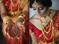Nitya & Naresh! More photos: http://ow.ly/88hri