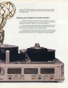 Nagra / Ampex VCR-5 / Flyer - www.remix-numerisation.fr - Rendez vos souvenirs durables ! - Sauvegarde - Transfert - Copie - Digitalisation - Restauration de bande magnétique Audio - MiniDisc - Cassette Audio et Cassette VHS - VHSC - SVHSC - Video8 - Hi8 - Digital8 - MiniDv - Laserdisc - Bobine fil d'acier - Digitalisation audio