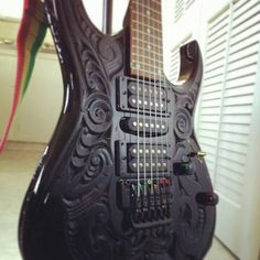 Cool custom guitar
