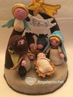 Crochet Christmas Decorations, Christmas Crochet Patterns, Crochet Decoration, Holiday Crochet, Christmas Crafts, Crochet Crafts, Crochet Dolls, Crochet Baby, Crochet Projects