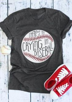 There's No Crying In Baseball, T-Shirt