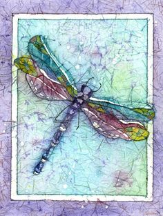 Watercolor Dragonfly Batik Painting on Aluminum. The image was infuse onto a sheet of aluminum, that yields a rich piece of art that can be easily hung without a frame for a sleek contemporary look. Aluminum is durable, waterproof, UV resistant, frameless and beautiful. It comes ready to hang and enjoy, Inquire for other sizes. Like me on FB and pin me.
