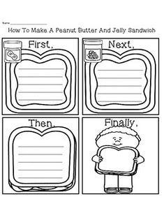 ... Peanut Butter And Jelly Sandwich Worksheet Free how to make a peanut