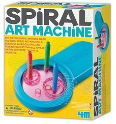 Spiral Art Machine - Art Supplies by Toysmith (5564).Most fav thing