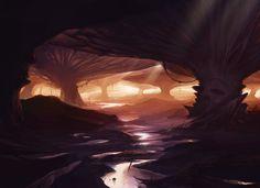 ArtStation - MTG Swamp redesign, David Franco