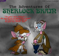 AFBEELDING pinky and the brain - animaniacs Photo
