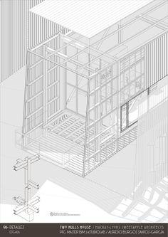 Proyecto Bim de Alfredo Burgos - Two Hulls House