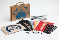 Kit de création de silhouettes d'ombres Coco d'en haut
