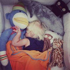 The nap-time crew. #toddlerlife #momsgetit #littlebear #sleevelessT