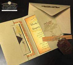 Custom embossed invitations