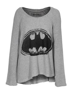 Batman Grey Oversize knit sweater. Wear this with leggings? So comfy!